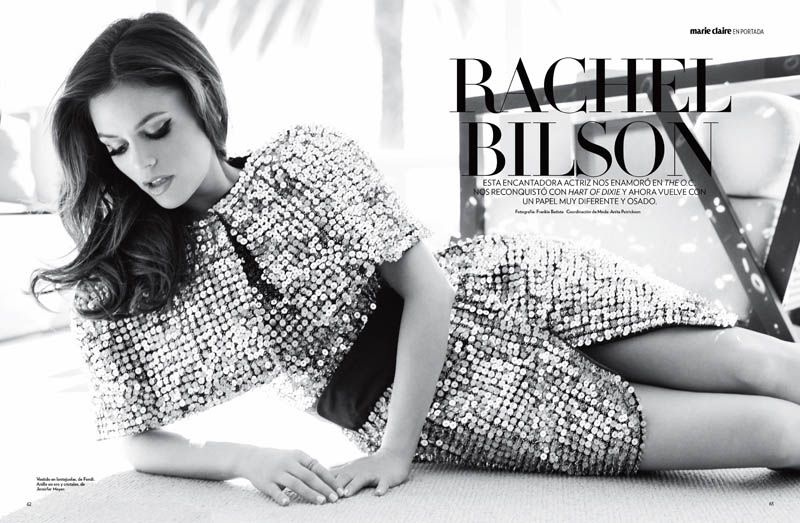 rachel bilson1 Rachel Bilson Poses for Frankie Battista in Marie Claire Mexico Cover Story