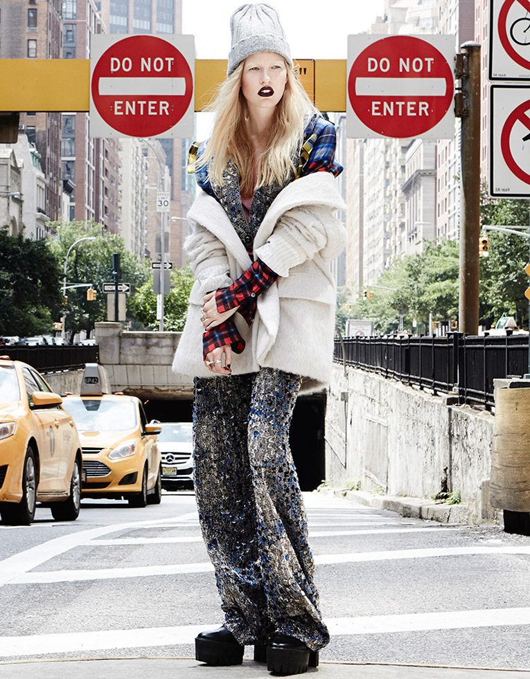 Louise Parker is a Rebel for Elle Australia Feature by Manolo Campion