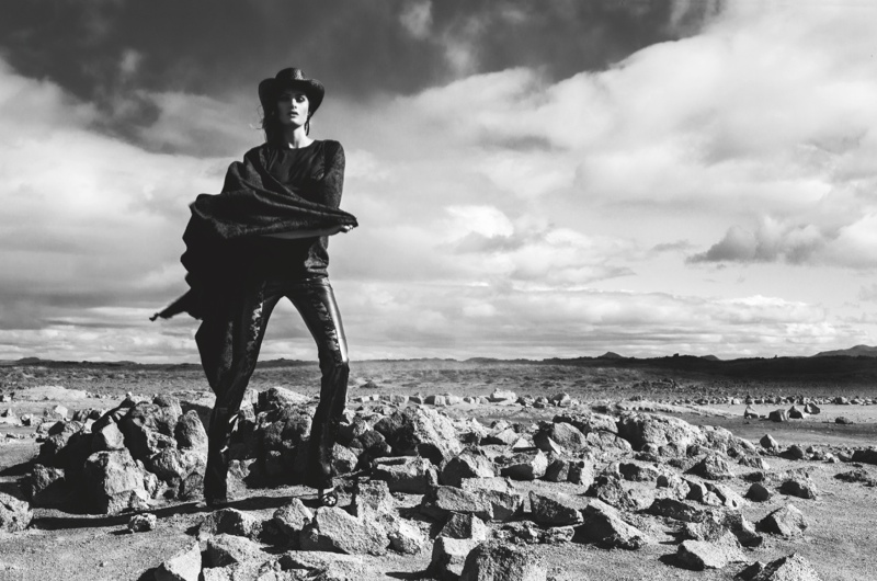Isabeli Fontana Returns for Redemption Choppers' Spring 2014 Campaign