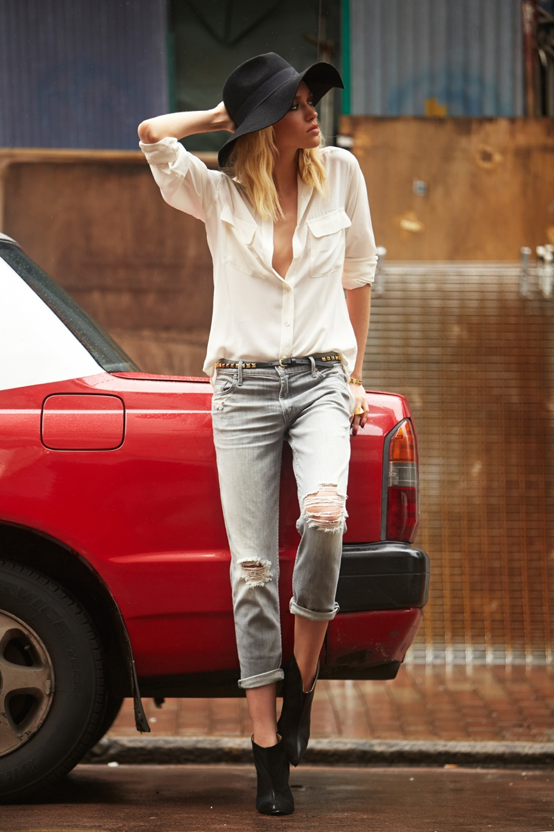 Cora Keegan Heads to Hong Kong for REVOLVE Clothing's Winter 2013 Lookbook