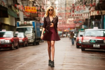 Cora Keegan Heads to Hong Kong for REVOLVE Clothing's Winter 2013 Lookbook