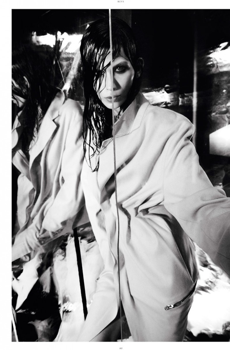 Monika Sawicka Poses for Jesse Laitinen in Revs Magazine #6