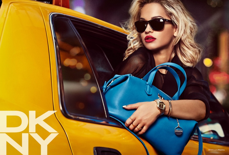 rita ora dkny campaign7 See Rita Ora in the DKNY Resort 2014 Campaign
