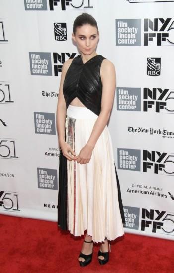 "Rooney Mara Wears Proenza Schouler at the NYFF Presentation of ""Her"""