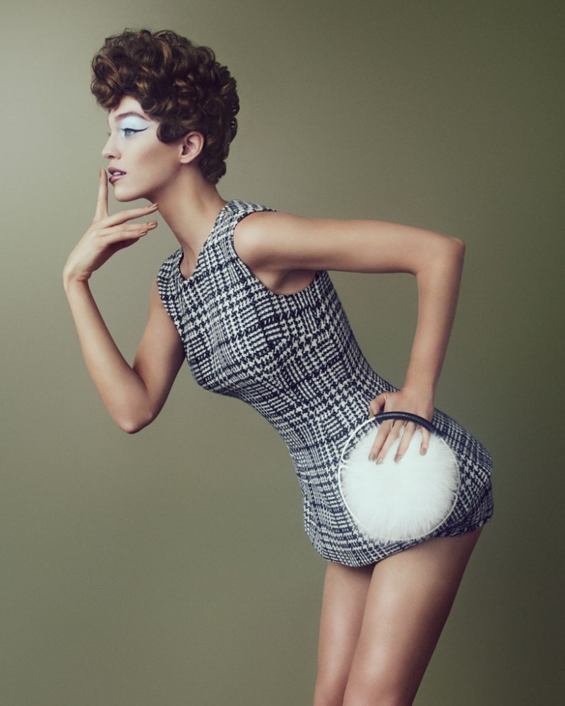 Samantha Gradoville Dons 1950s Style for How to Spend It by Andrew Yee