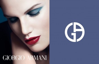 Saskia de Brauw Lands Giorgio Armani Cosmetics Campaign
