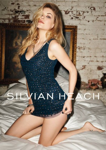 Ashley Smith Smolders in Silvian Heach Fall 2013 Ads by Terry Richardson