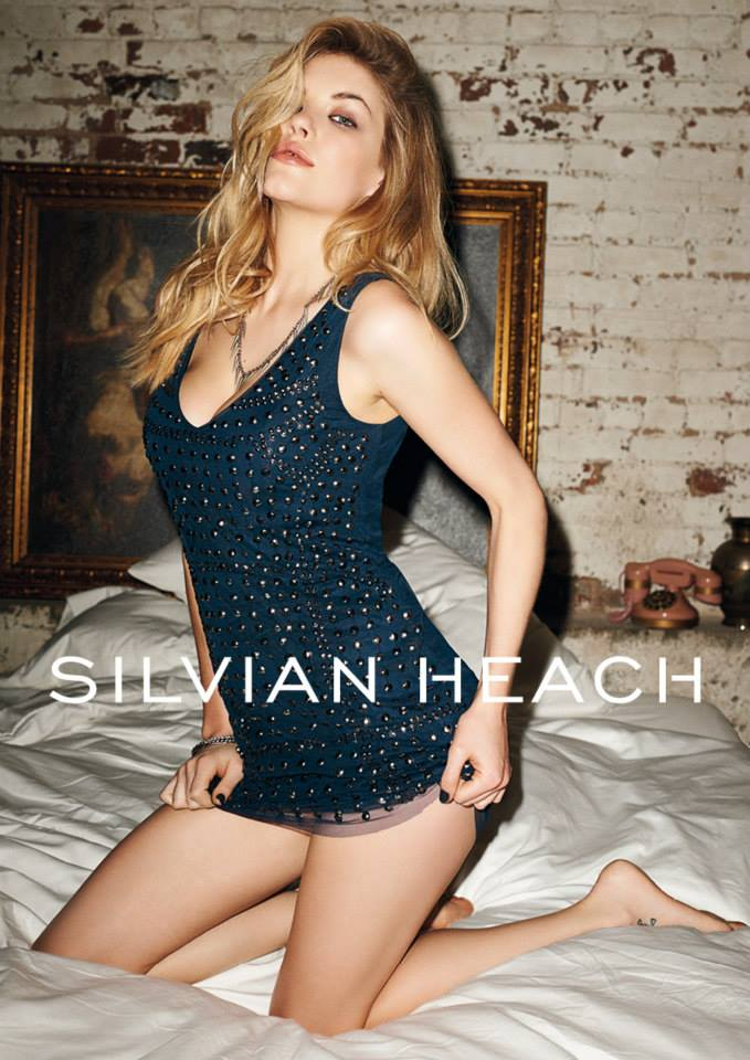 silvian heach fall ads2 Ashley Smith Smolders in Silvian Heach Fall 2013 Ads by Terry Richardson