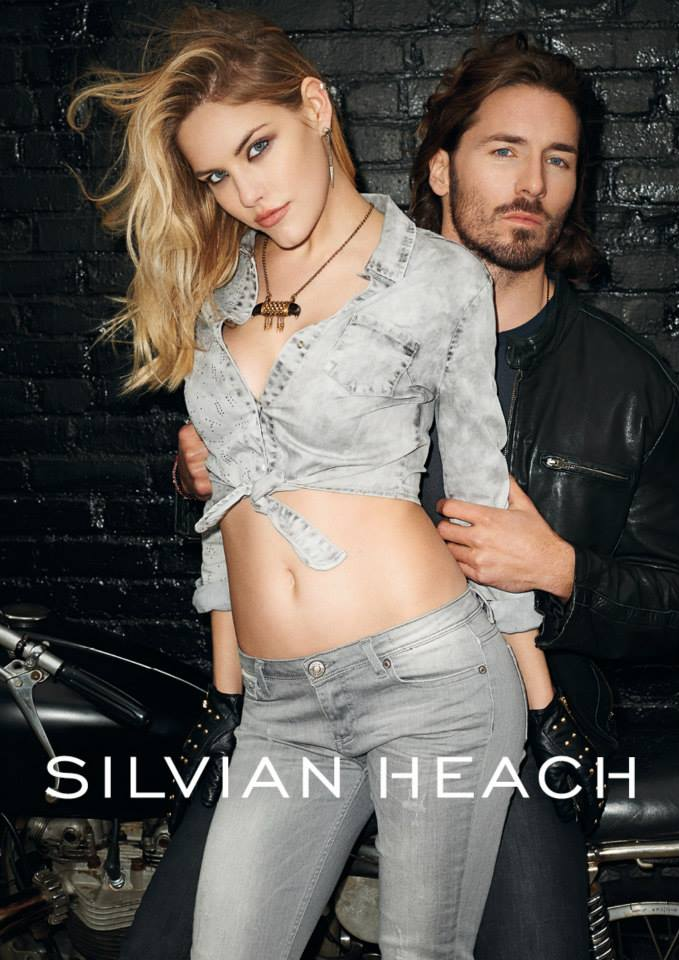 silvian heach fall ads3 Ashley Smith Smolders in Silvian Heach Fall 2013 Ads by Terry Richardson