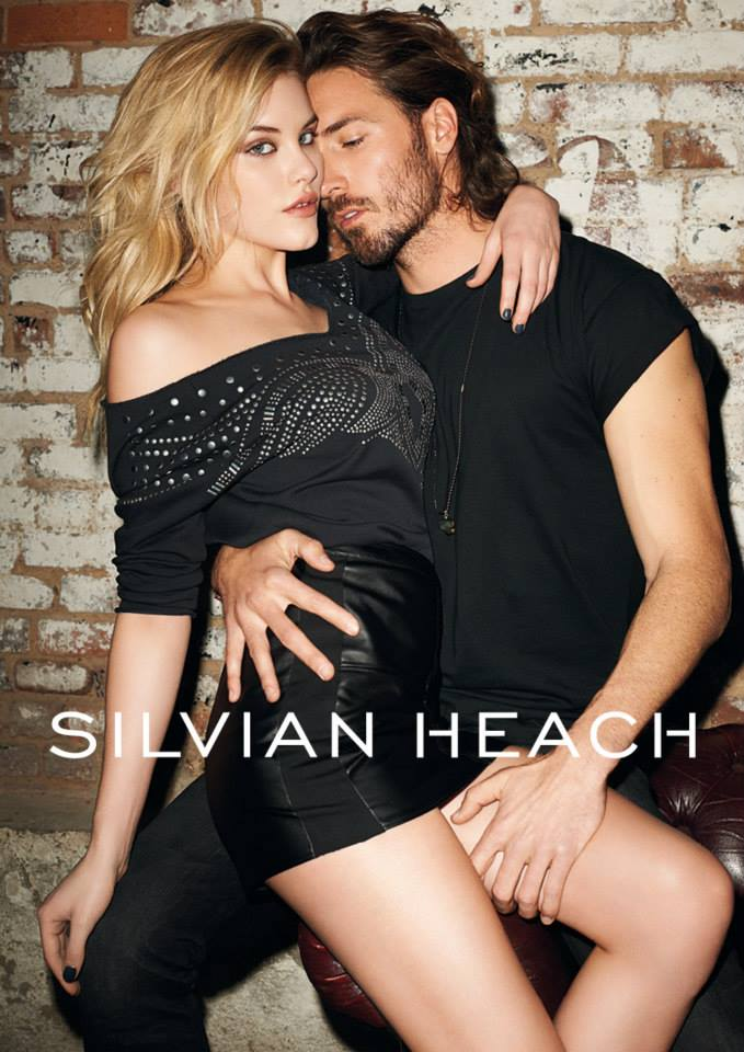 silvian heach fall ads5 Ashley Smith Smolders in Silvian Heach Fall 2013 Ads by Terry Richardson