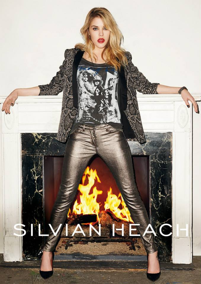silvian heach fall ads6 Ashley Smith Smolders in Silvian Heach Fall 2013 Ads by Terry Richardson