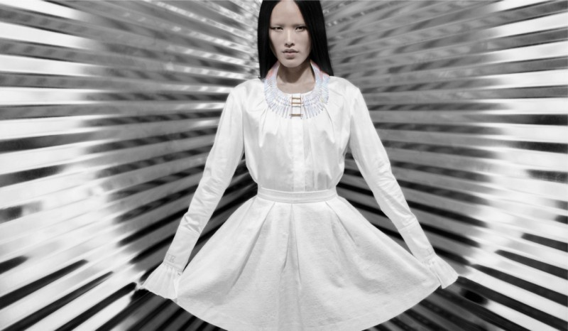Lan Fronts Thomas Wylde Spring 2014 Campaign by Ian Morrison