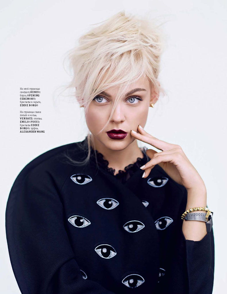 ukraine models6 Alina Baikova, Alla Kostromicheva + More Pose for Andrew Yee in Elle Ukraine November 2013