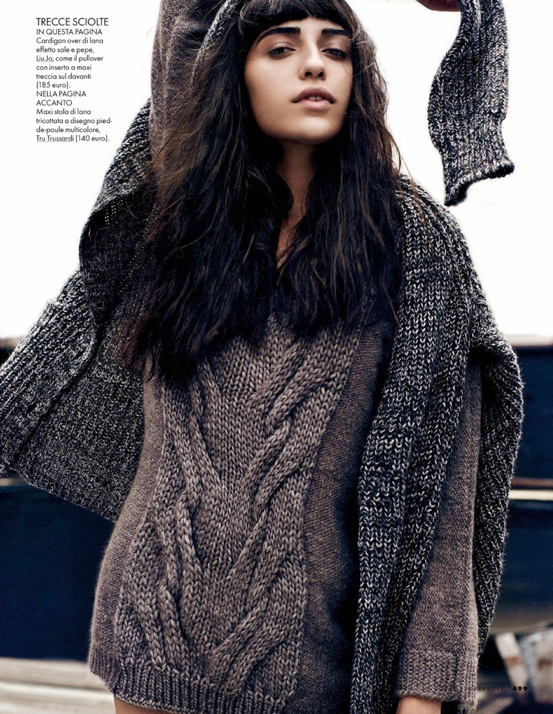 vanessa dan martensen5 Vanessa Moreira Keeps it Casual for Dan Martensen in Elle Italia Spread
