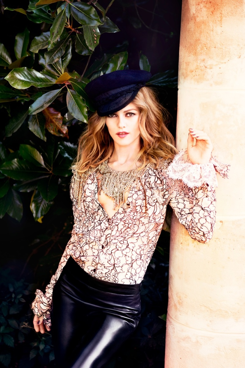 vanessa paradis 2013 7 Vanessa Paradis Poses for Ellen von Unwerth in Chanel for Madame Figaro