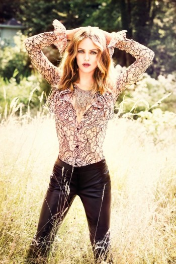 Vanessa Paradis Poses for Ellen von Unwerth in Chanel for Madame Figaro