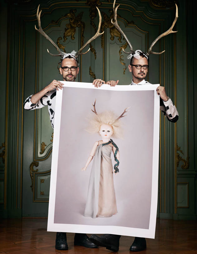 viktor rolf retrospective10 Viktor & Rolf Revisit Their Greatest Hits for Vogue Netherlands by Philip Riches
