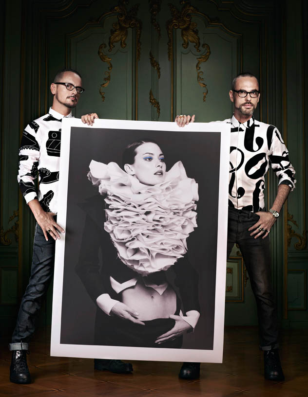 viktor rolf retrospective12 Viktor & Rolf Revisit Their Greatest Hits for Vogue Netherlands by Philip Riches