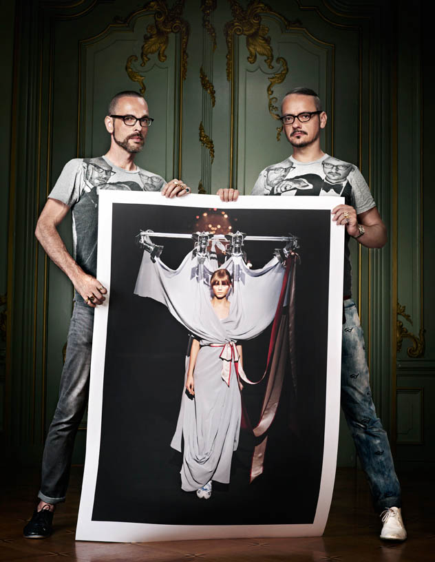 viktor rolf retrospective2 Viktor & Rolf Revisit Their Greatest Hits for Vogue Netherlands by Philip Riches