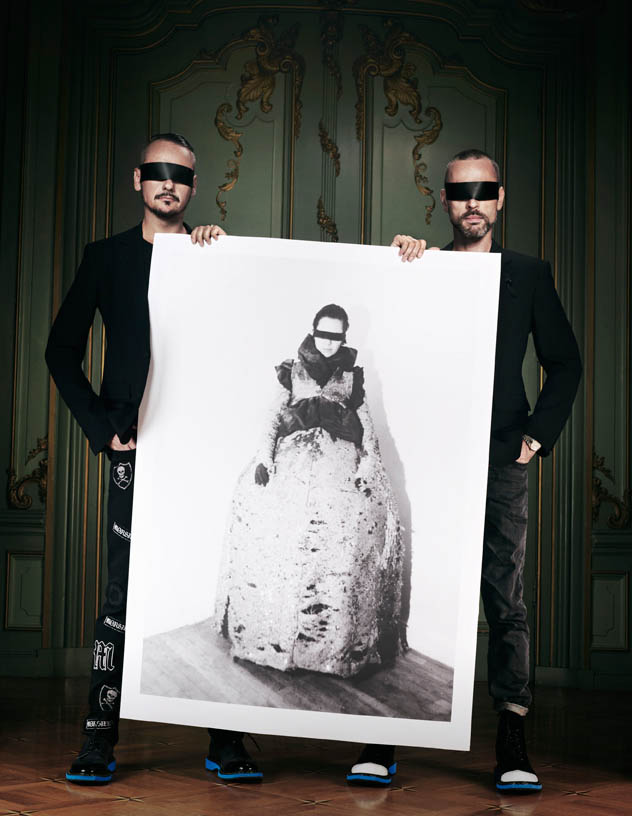 viktor rolf retrospective3 Viktor & Rolf Revisit Their Greatest Hits for Vogue Netherlands by Philip Riches