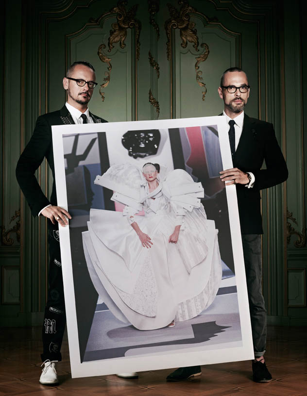 viktor rolf retrospective4 Viktor & Rolf Revisit Their Greatest Hits for Vogue Netherlands by Philip Riches