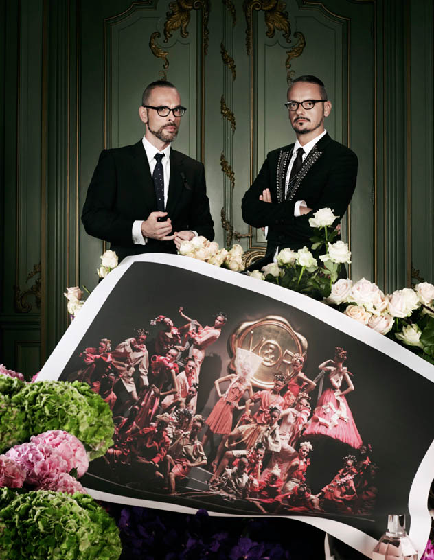 viktor rolf retrospective5 Viktor & Rolf Revisit Their Greatest Hits for Vogue Netherlands by Philip Riches