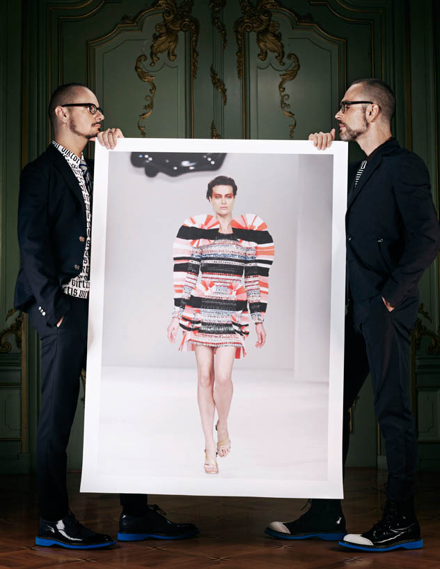 viktor rolf retrospective6 Viktor & Rolf Revisit Their Greatest Hits for Vogue Netherlands by Philip Riches
