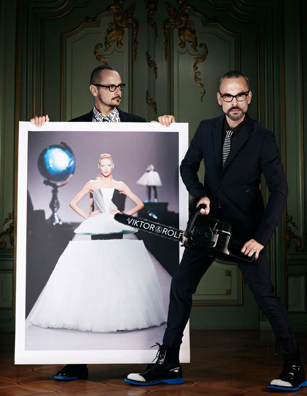 viktor rolf retrospective7 Viktor & Rolf Revisit Their Greatest Hits for Vogue Netherlands by Philip Riches