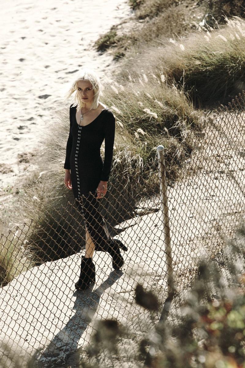 """First Look at Wasteland's """"Paint it Black"""" Lookbook Starring Lauren Hastings"""