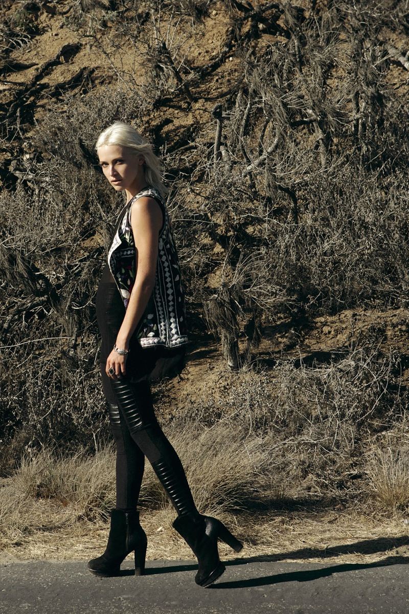wasteland paint it black16 First Look at Wastelands Paint it Black Lookbook Starring Lauren Hastings