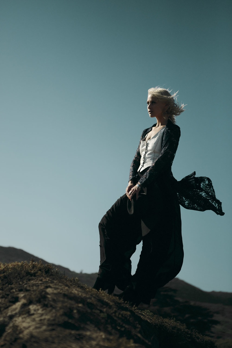 wasteland paint it black18 First Look at Wastelands Paint it Black Lookbook Starring Lauren Hastings