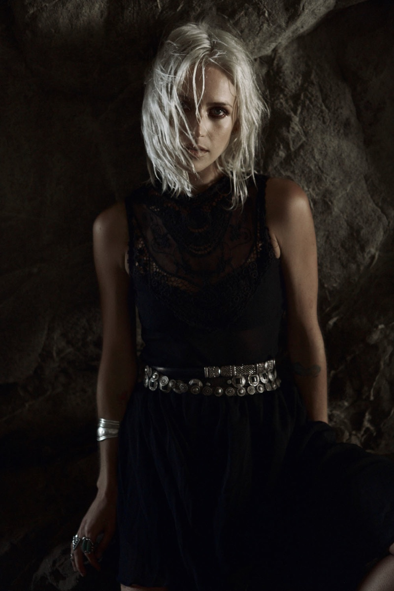wasteland paint it black5 First Look at Wastelands Paint it Black Lookbook Starring Lauren Hastings