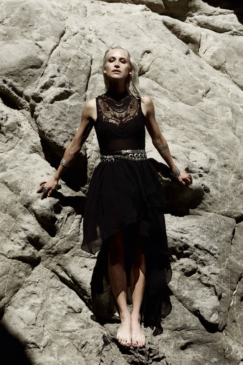 wasteland paint it black6 First Look at Wastelands Paint it Black Lookbook Starring Lauren Hastings