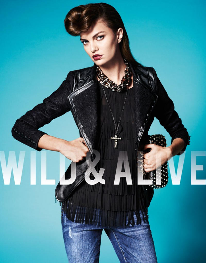 wild alive4 800x1018 Barbara Fialho & Caroline Loosen Star in Wild & Alive Fall 2013 Ads by Bjarne Jonasson