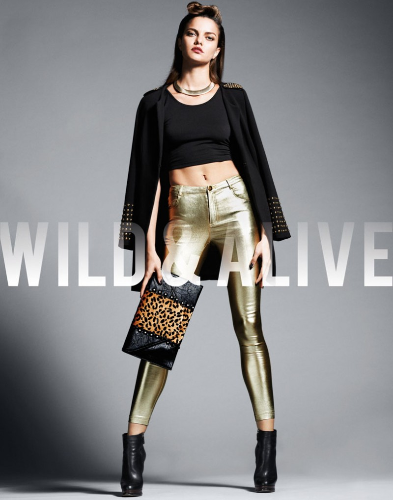 wild alive5 800x1018 Barbara Fialho & Caroline Loosen Star in Wild & Alive Fall 2013 Ads by Bjarne Jonasson