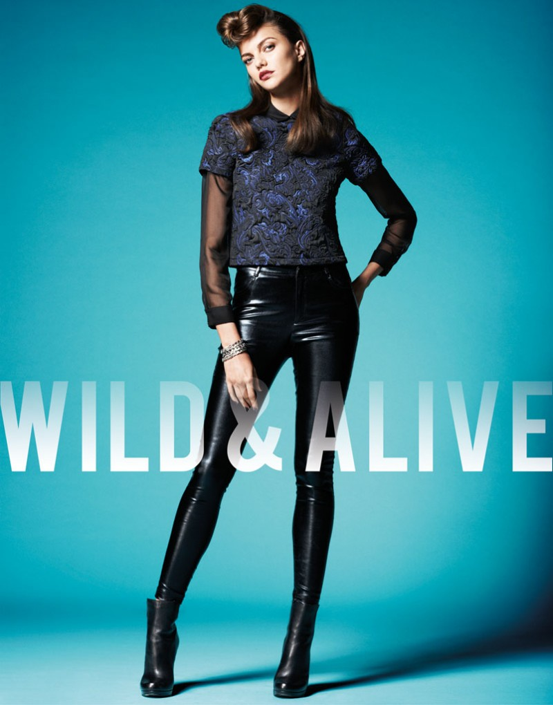 wild alive6 800x1020 Barbara Fialho & Caroline Loosen Star in Wild & Alive Fall 2013 Ads by Bjarne Jonasson