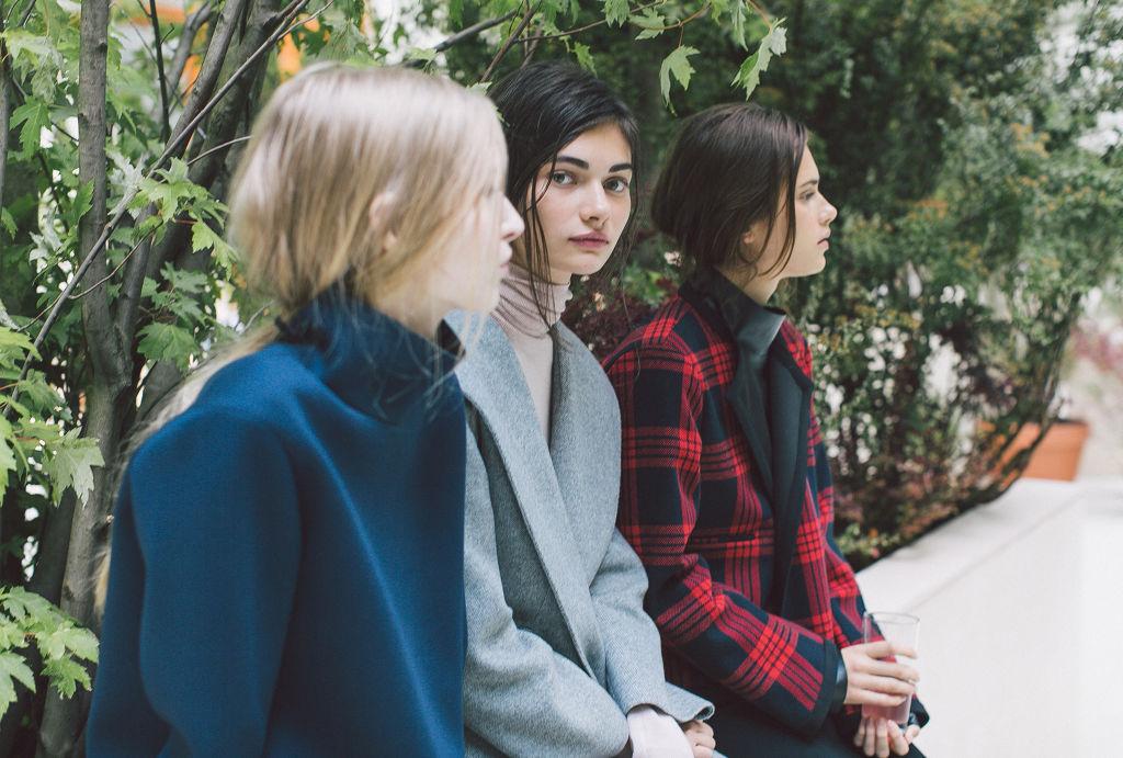 Zara September/October Lookbook   Franzi Mueller, Antonina Vasylchenko + More