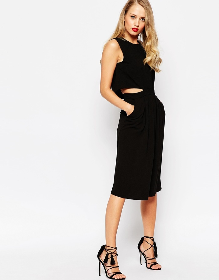 Asos black dresses
