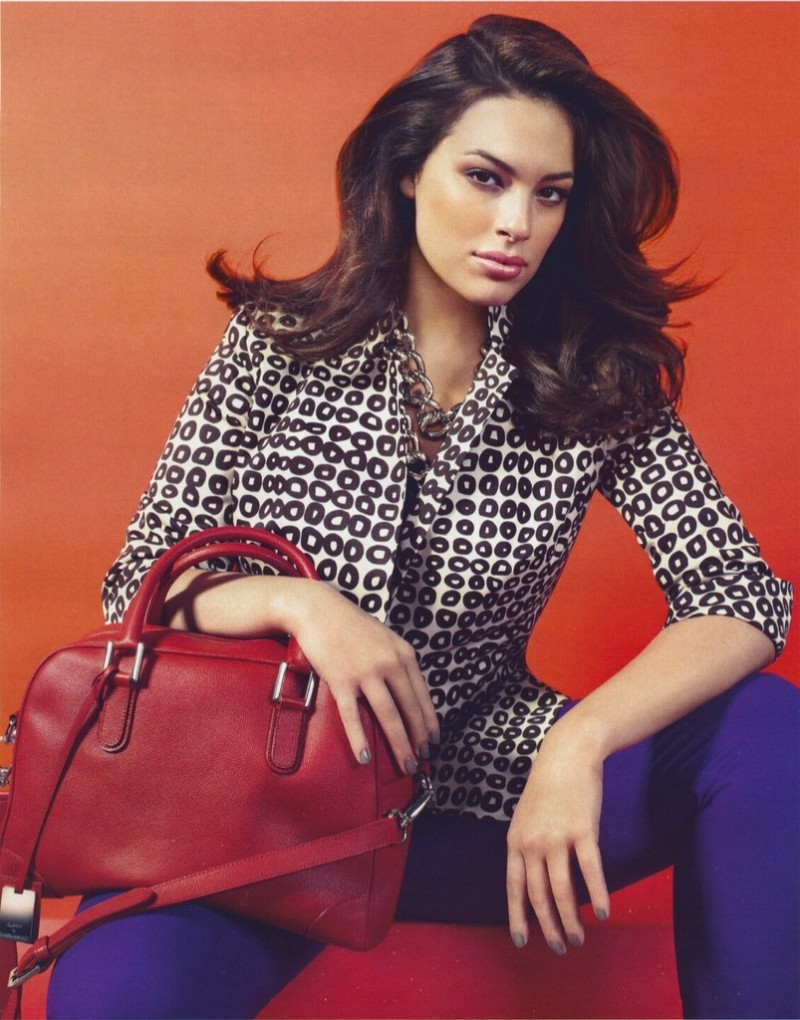 Ashley Graham for Marina Rinaldi Spring/Summer 2012 Campaign
