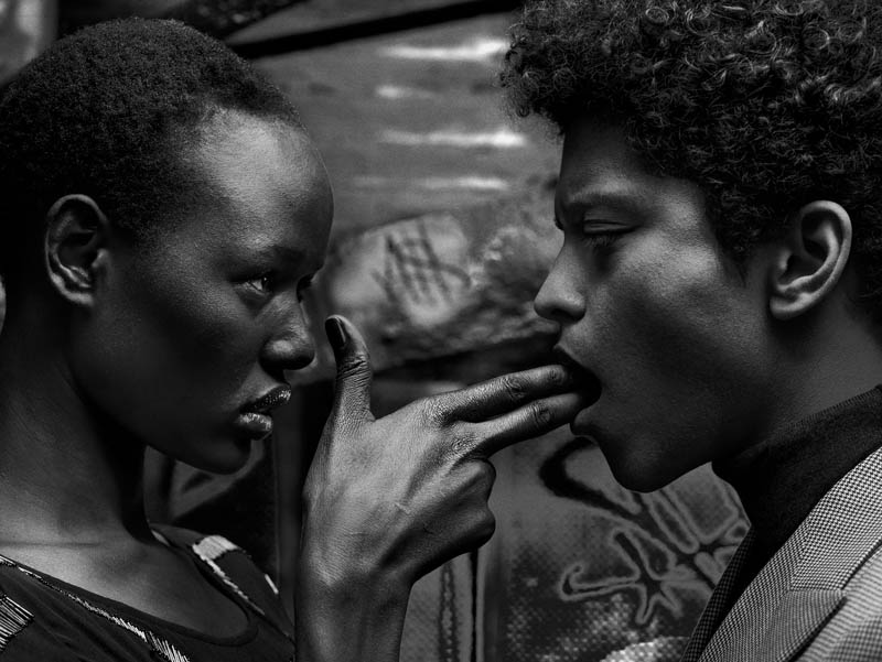 Bruno mars Interview: Hunter & Gatti on New Exhibition featuring Carolyn Murphy, Ajak Deng