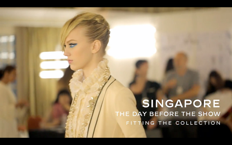 CHANEL CRUISE VIDEO See Behind the Scenes at Chanels Cruise 2014 Collection