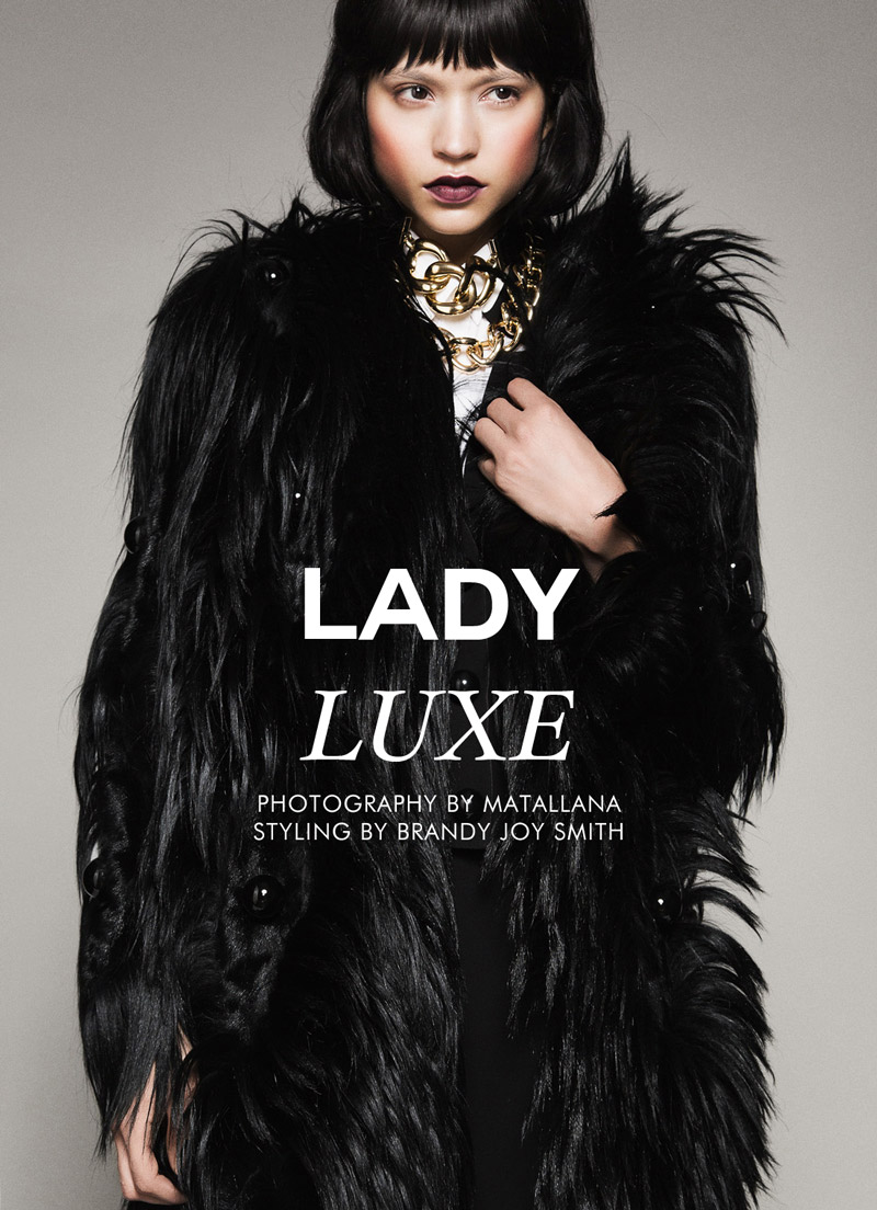 "Catalina Llanes by Matallana in ""Lady Luxe"" for Fashion Gone Rogue"
