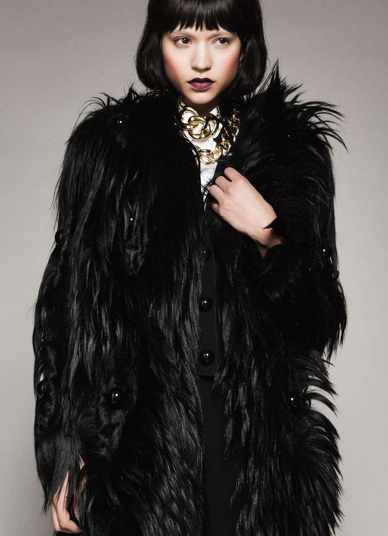 """Catalina Llanes by Matallana in """"Lady Luxe"""" for Fashion Gone Rogue"""