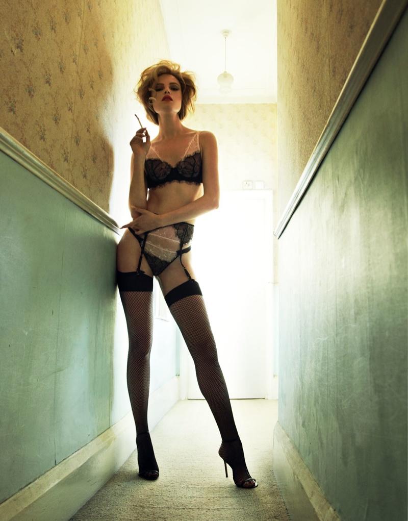 Dasha Zharova is Motel Chic for Stolnick Magazine by Nikolay Biryukov
