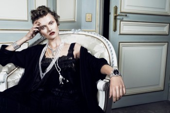 Kamila Filipcikova Models High Jewelry for Alexx and Anton in Gala