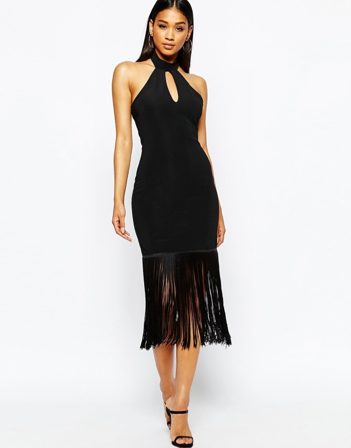 Michelle-Keegan-Loves-Lipsy-Halterneck-Bodycon-Dress-Fringe
