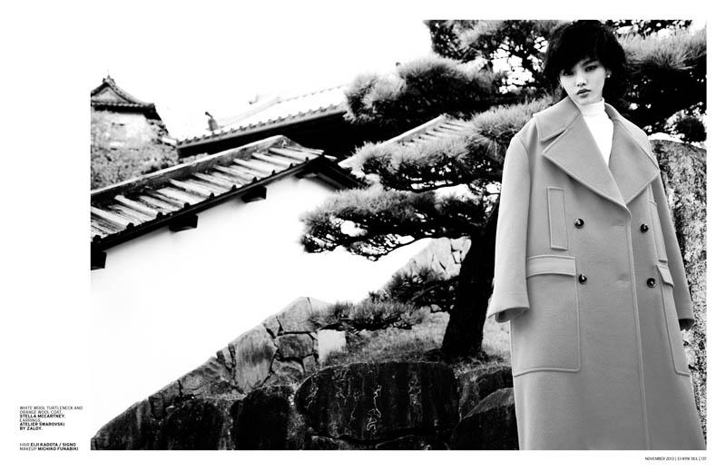 Rila Fukushima2 Rila Fukushima Stars in LOfficiel Singapore November Cover Story