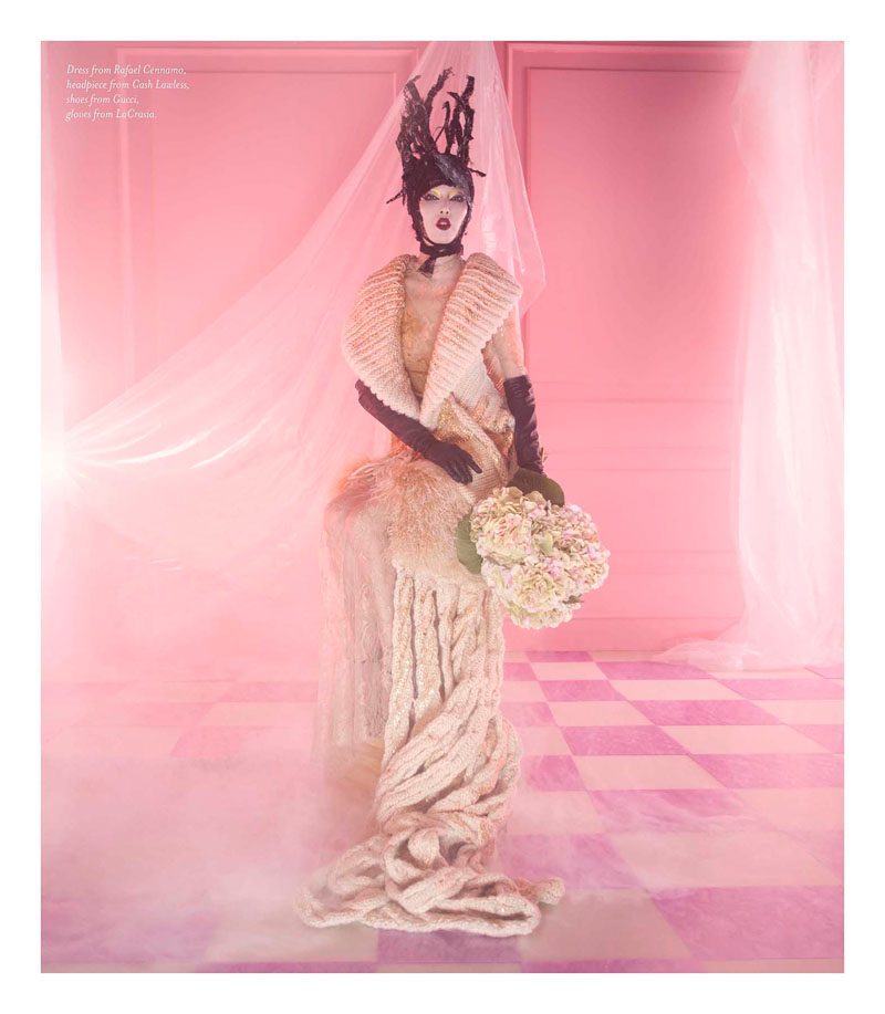 Sung Hee Kim Enchants for Amber Gray in The Magazine