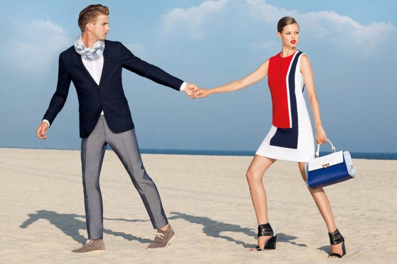 americana manhasset resort1 800x533 Lindsey Wixson Fronts Americana Manhasset Resort 2014 Ads