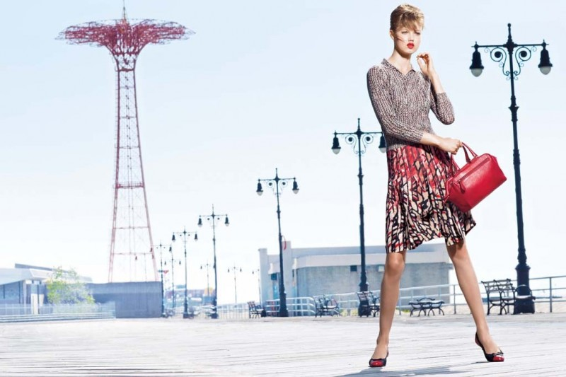 americana manhasset resort3 800x533 Lindsey Wixson Fronts Americana Manhasset Resort 2014 Ads